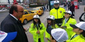 Çocuklar 'Trafik' Denetiminde