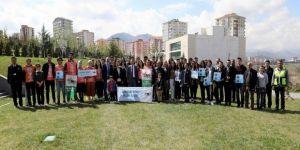 Erü'de 'Kampüse İzini Bırak' Etkinliği Kapsamında Fidan Dikildi