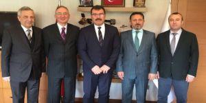 Dpü Rektörü Gören'den Tübitak'a Ziyaret