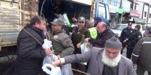 Orman Bölge Müdürlüğü Berat Kandili Dolayısıyla Ücretsiz Fidan Dağıtımı Yaptı