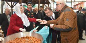 Hürriyet'ten vatandaşlara lokma ikramı
