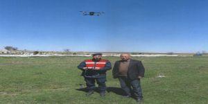 Kaybolan Büyükbaş Hayvanlar Drone İle Bulundu