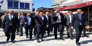 Turizm Bakanı Ersoy, Bodrum'da İncelemelerde Bulundu