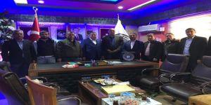 Sağlık-sen'den Başverimli Belediye Başkanı Tatar'a Tebrik Ziyareti