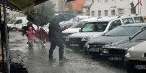 Lüleburgaz'da Sağanak Yağış