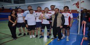 Kurumlar Arası Voleybol Turnuvası sona erdi