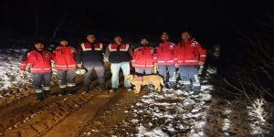 Kayıp şahıs için UMKE ve jandarmadan ortak operasyon