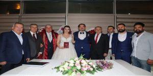Fatih Atay ilk nikahını kıydı