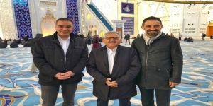 Başkan Büyükkılıç'tan Çamlıca Camii'nde İnceleme