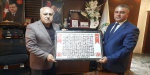 Yeşilli Belediye Başkanı Demir'e İstiklal Marşı Teşekkürü