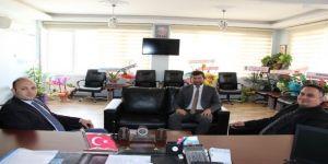 Kaymakamlardan Başkan Demirci'ye 'Hayırlı Olsun' Ziyareti