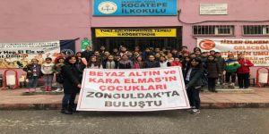 'Beyaz Altın' Ve 'Kara Elmas'ın Çocukları Zonguldak'ta Buluştu