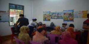 Tika Arakan'daki Çalışmalarına Devam Ediyor