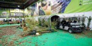 23 Nisan çocukları, Ormanya'da safari deneyimi yaşadı