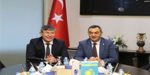 Kazak Büyükelçi'den Kayso'ya Ziyaret