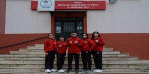 Türkiye'yi Rusya'da Temsil Edecek 5 Sporcu Yola Çıktı