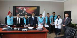 Karaman'da Başarılı Sağlık Personeline Başarı Belgesi Verildi