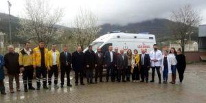 Sağlık Bakanlığı tarafından Pınarbaşı'na ambulans tahsis edildi