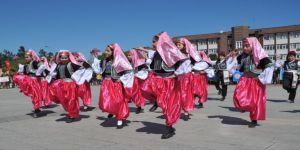 Bafra'da 23 Nisan coşkusu
