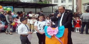 Gülüç'te 23 Nisan Bayramı Coşkuyla Kutlandı