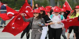 Bursa'da 23 Nisan Coşkusu