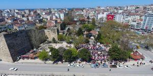 Sinop'ta 23 Nisan kutlamaları