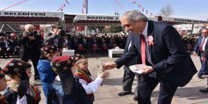 Bozüyük'te 23 Nisan Ulusal Egemenlik Ve Çocuk Bayramı Coşkuyla Kutlandı