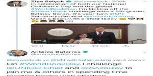 Milli Eğitim Bakanı Selçuk'tan Bm Genel Sekreterine 'Dünya Kitap Günü' Çağrısı