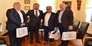 Bulgaristan Ve Romanyalı Yetkililer Yüksel'i Tebrik Etti