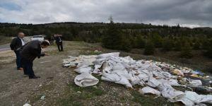 Ormanlık Alana Atılan O Çöpler Temizlendi
