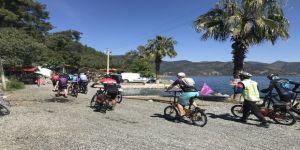 Muğla'da 2. Karia Bisiklet Festivali Yapıldı