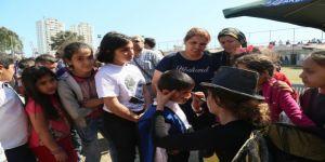 Çocuklar, Akdeniz'deki Şenlikte Gönüllerince Eğlendi