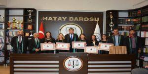 Hatay Barosuna 5 Yeni Avukat