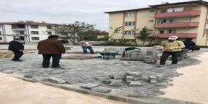 Başkanı Fevzi Kılıç Hacıoğlu Mahallesinde Devam Çalışmaları Yerinde İnceledi