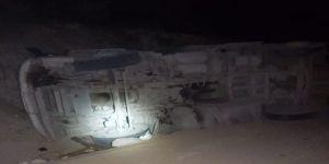 Bilecik'te Seyir Halindeki Tır Devrildi; Sürücüsü Yaralandı