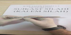 Karaman'da Suikast Silahı Ele Geçirildi