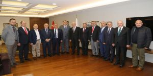 Artvinli Belediye Başkanları Çankaya'da