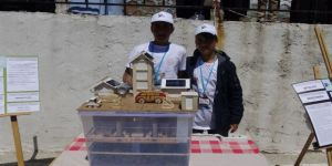 Gercüş'te 4006 Tübitak Bilim Fuarı Açıldı