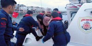 Yunan Adalarına Kaçmaya Çalışan 28 Göçmen Yakalandı