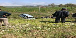 Trafik Kazası: 1 Yaralı