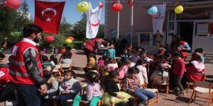 Anaokulu Öğrencileri Kızılay'ın '23 Nisan Çocuk Festivali' İle Eğlendi