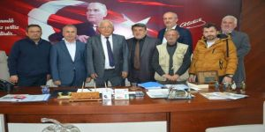 Gazeteciler Başkan Posyık İle Bir Araya Geldi
