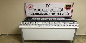 Tırın Tekerlerinden Bin 420 Paket Kaçak Sigara Çıktı