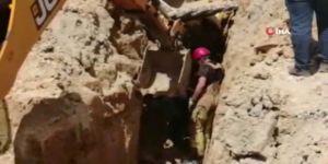 Başakşehir'de Bir İnşaatta Göçük Meydana Geldi:1 Ölü