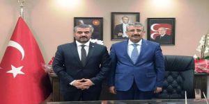 Mhp İl Başkanı Avşar'dan Darende Belediyesi'ne Ziyaret
