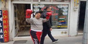 Ramazan kick boksa başladı