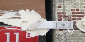 Esenyurt'ta Çatlamaların Olduğu Bina Ve Sokaklarda Ölçüm Aletleri Dikkat Çekti
