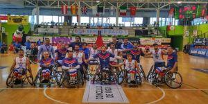 İzmir Tekerlekli Sandalye Basketbol Takımı Avrupa 3.'sü Oldu