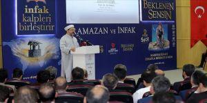 """Diyanet İşleri Başkanı Ali Erbaş: """"Bir Fitre Bedeli 23 Türk Lirasıdır"""""""