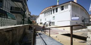 Hüdaverdi Camii'ne engelli rampası yapıldı